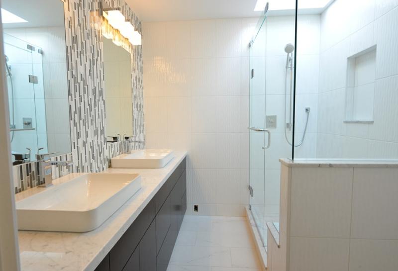 complete bathroom remodel West Vancouver