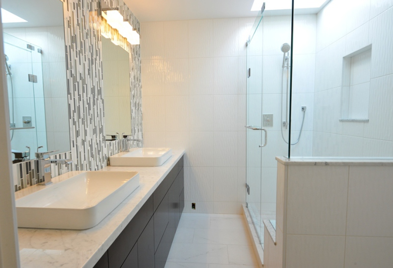 complete bathroom remodel West Vancouver
